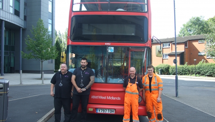 Coventry College PSV tutors with National Express