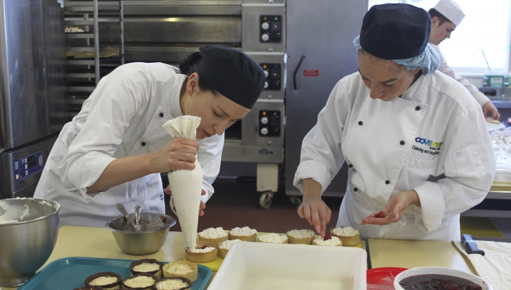 Pastry Chefs at Coventry College