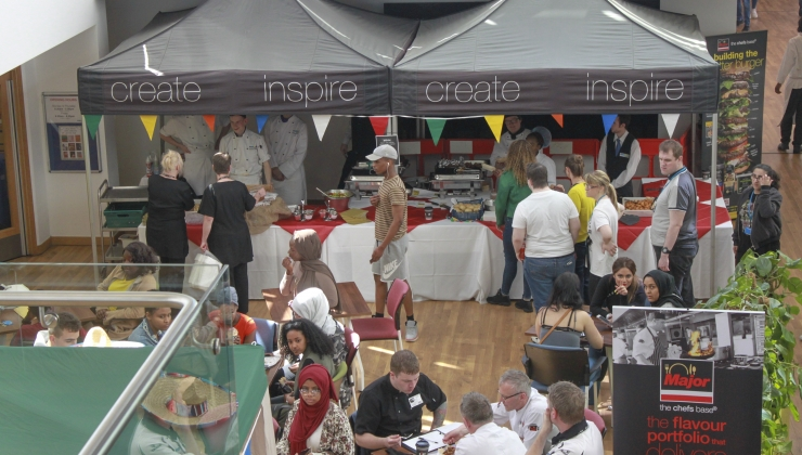 Urban Food Market at Coventry College